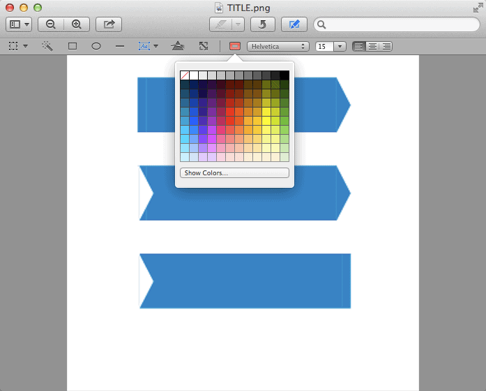 Preview Choose Colour