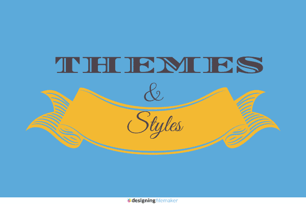 Designing Layouts Using Themes & Styles