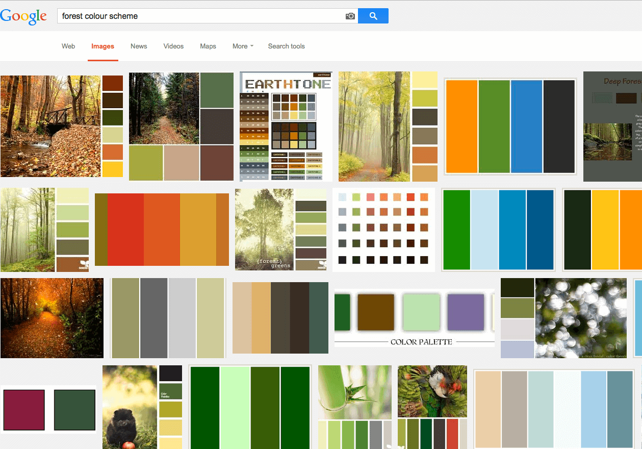 Forest Palette