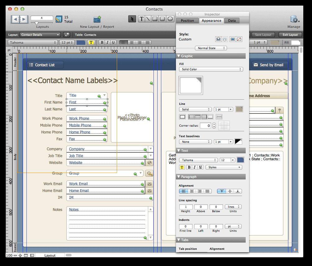 FileMaker 12 Starter Solution