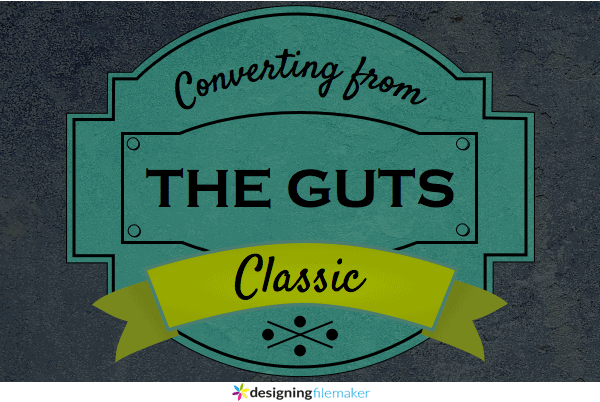 Converting From The Classic Theme Part 1: The Guts
